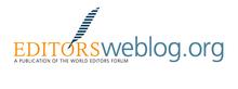 editors weblog logo